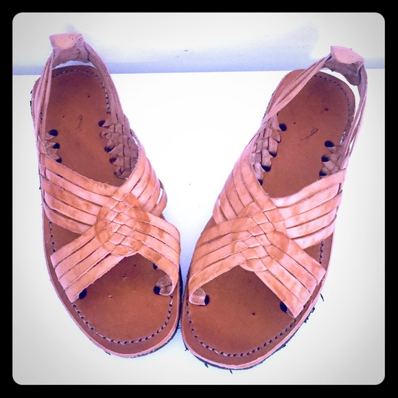 1a24d8c2874ed Huaraches Leather Huarache Sandals Mexico 9